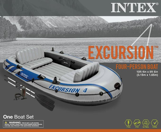Intex Excursion 4 Accessories