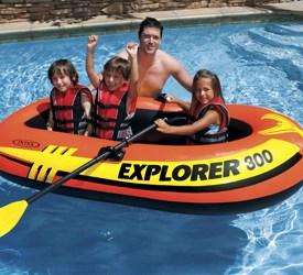 Bateau Intex Explorer 300