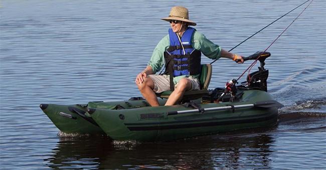 Sea Eagle 285fpb Inflatable Pontoon Boat