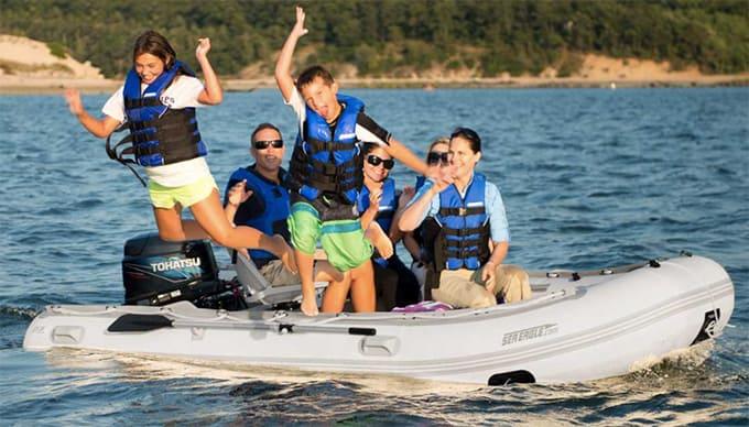 Sea Eagle 12.6 sr Sport Runabout