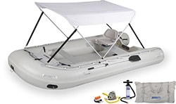Sea Eagle 14sr Drop Stitch Swivel Seat & Canopy