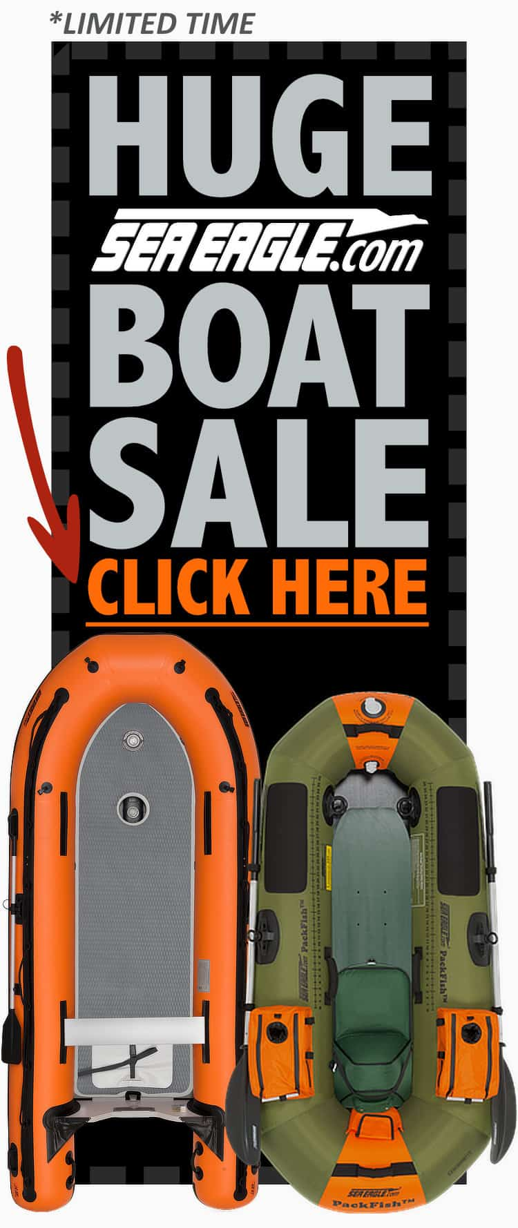 HUGE Sea Eagle Boat Sale